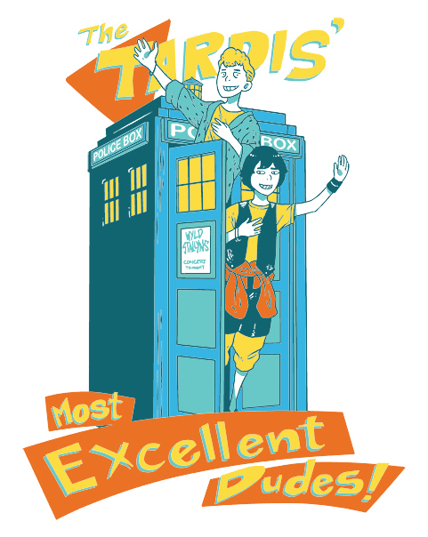 Excellent TARDIS Adventure at shirtpunch.com