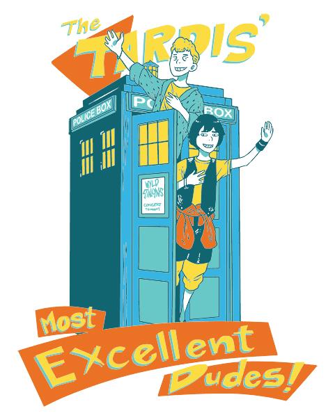 Excellent TARDIS Adventure at shirtpunch.com