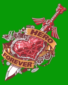 Hero Forever at shirtpunch.com