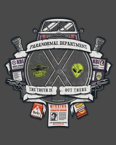 Paranormal Files at shirtpunch.com