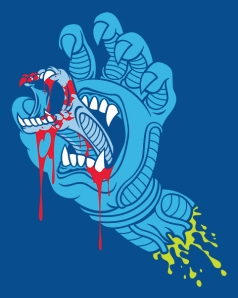Screaming Alien Hand at shirtpunch.com