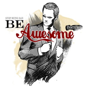 Be Awesome at shirtpunch.com (TV Shirt of the Day)