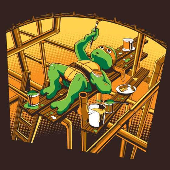 Sistine Sewer at shirtpunch.com (TV Shirt of the Day)