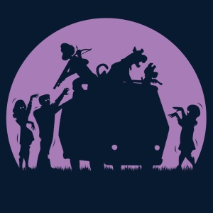 Zoinks...They're Zombies! at shirtpunch.com (TV Shirt of the Day)