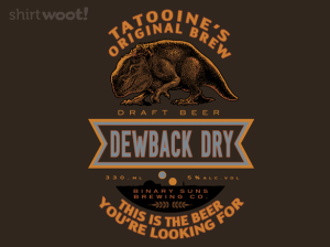 Dewback Dry at shirt.woot.com