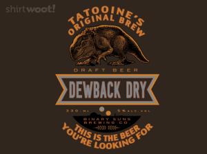 Dewback Dry at shirt.woot.com