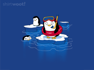 Poorly Prepared Penguin at shirt.woot.com