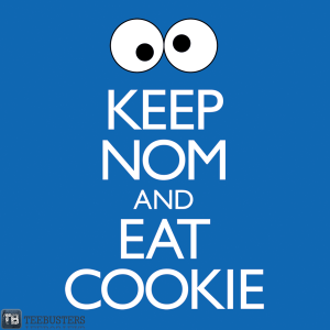 Keep Nom and Eat Cookie at teebusters.com