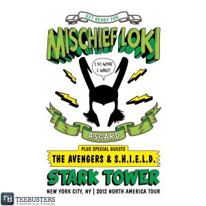 Mischief Loki at teebusters.com