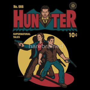 Hunter Comic at teefury.com