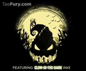 Jack's Nightmare (Glow in the Dark!) at teefury.com