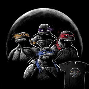 Night of the Ninjas at teefury.com