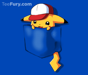 Pocket Monster 4 at teefury.com