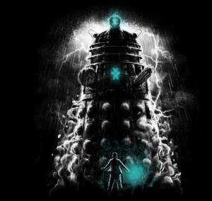 Shadow of the Dalek at teefury.com