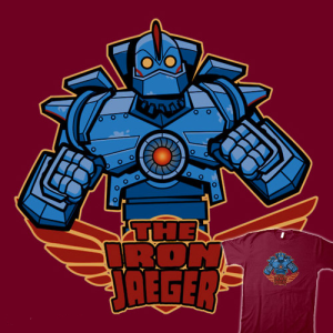 The Iron Jaeger at teefury.com