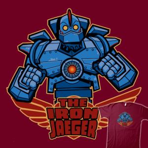 The Iron Jaeger at teefury.com