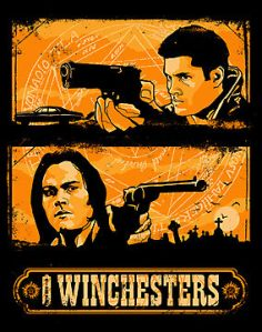 The Winchesters at teefury.com