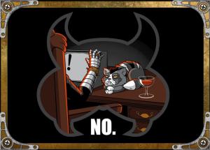 NO! at teevillain.com