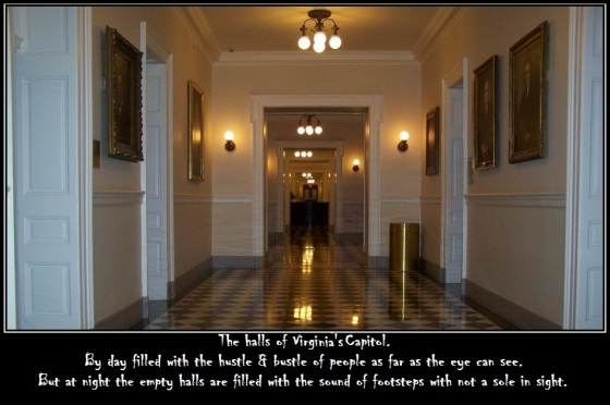 The Halls of the Capitol Building