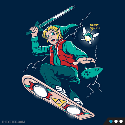 A Link to the Future at theyetee.com
