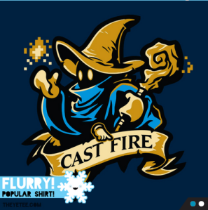 Cast Fire at theyetee.com