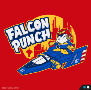 Falcon Punch at theyetee.com