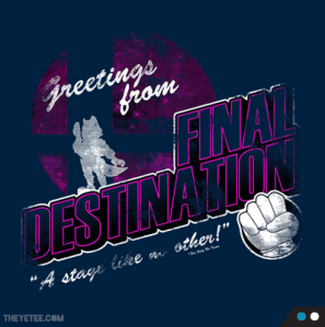 Final Destination at theyetee.com