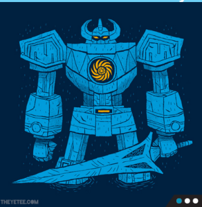 Jaegerzord at theyetee.com