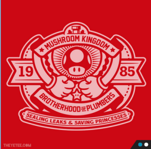 Red Plumber Bro at theyetee.com