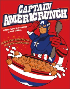 Captain Americrunch at freshbrewedtee.com