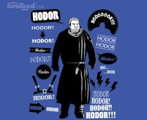 Hodor Famous Quotes at limiteed.com