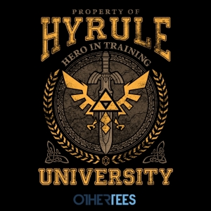Hyrule University at othertees.com