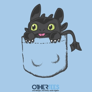 Pocket Dragon at othertees.com