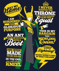 God of Mischief at qwertee.com