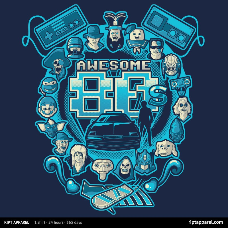 Awesome 80s at riptapparel.com