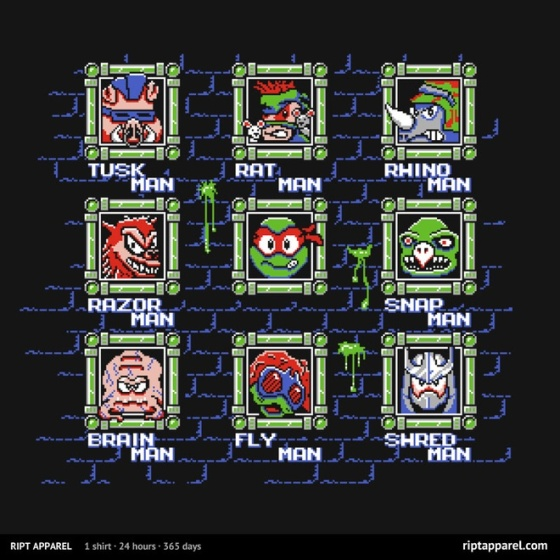 Mega Turtles 3 at riptapparel.com
