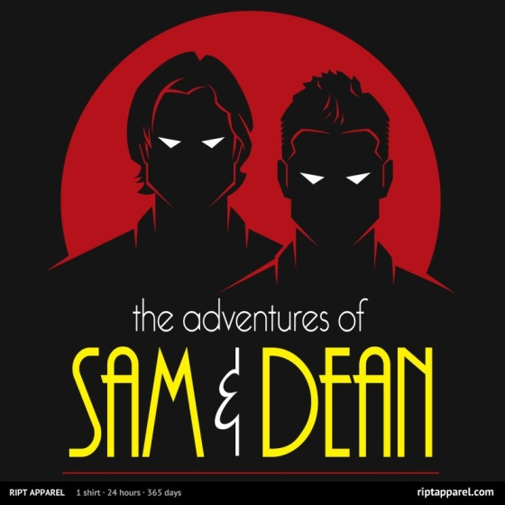 Sam and Dean: The Animated Series at riptapparel.com