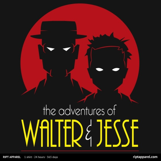 Walt and Jesse: The Animated Series at riptapparel.com