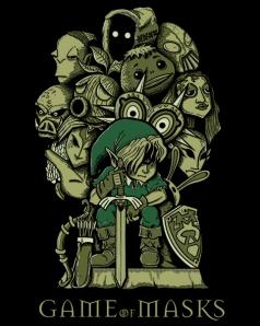 Game of Masks at shirtpunch.com