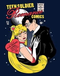 Teen Soldier Romance Comics at shirtpunch.com