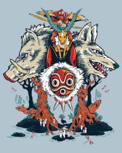 The Wolf Princess at shirtpunch.com