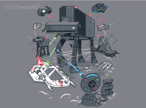 Console Wars at shirt.woot.com