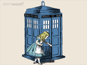 Through the Police Box at shirt.woot.com
