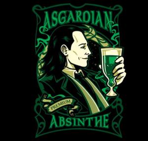 Asgardian Absinthe at teefury.com