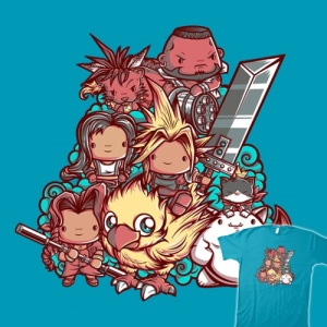 Cute Fantasy VII at teefury.com