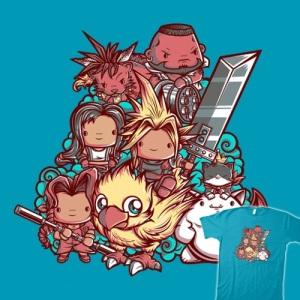 Cute Fantasy VII at teefury.com
