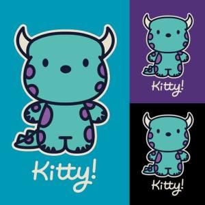 Kitty! at teefury.com
