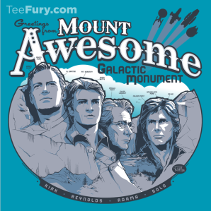 Mt. Awesome at teefury.com