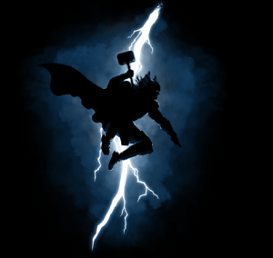 The Thunder God Returns at teefury.com
