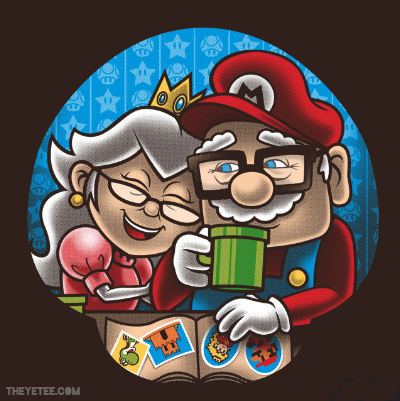1-Up Love at theyetee.com